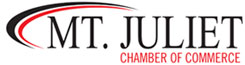 Proud Members of the Mt. Juliet Chamber of Commerce
