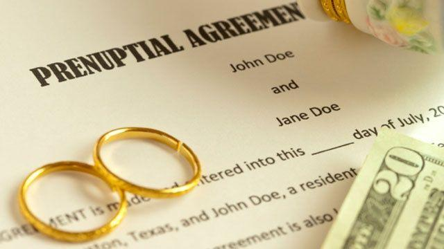 Pre Nuptial Agreements Ashley Jacksons Blog